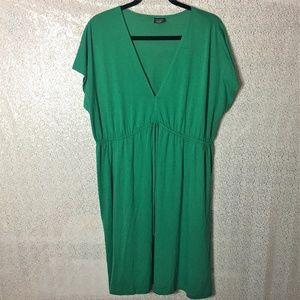 Faded Glory Short Kelly Green Maxi Dress